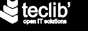 Logo Teclib en noir et blanc